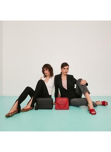 Sole Sisters Babet & Düz Ayakkabı Leopar - Johor Kahve